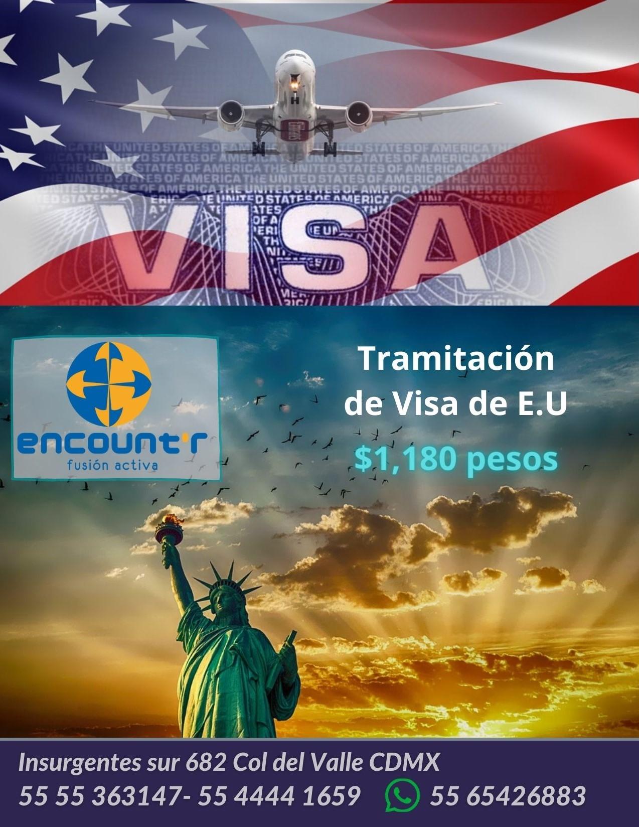 Tramitación de Visa de E.U Junio 2021