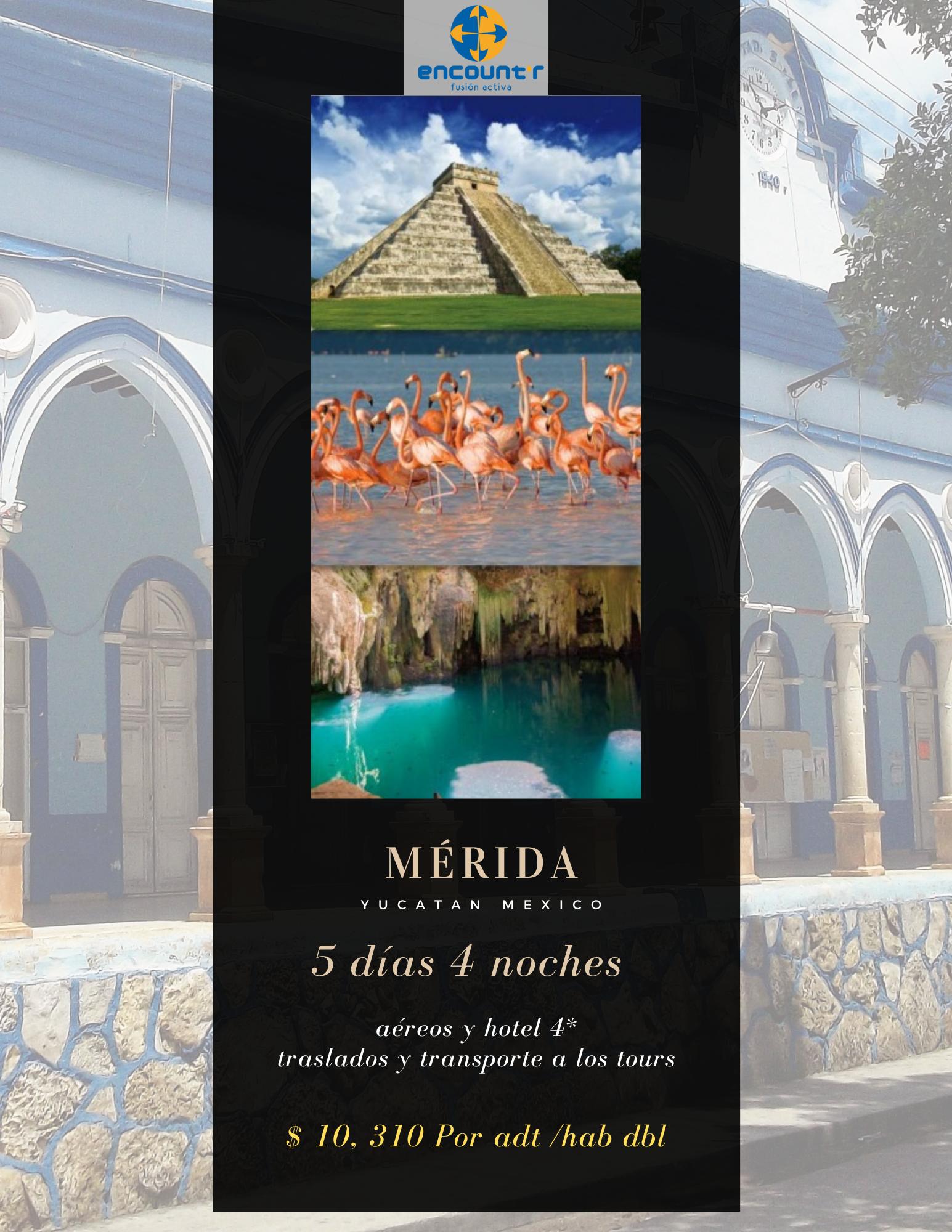 Viajes a Mérida